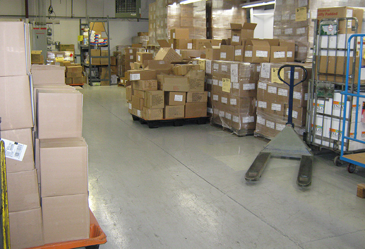 mail storage and mailing services